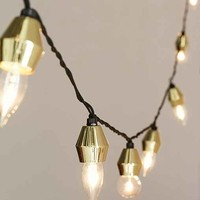 Metal Cap String Lights
