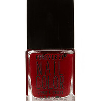 FOREVER 21 Wine Red Nail Polish Red One