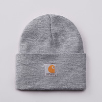 Flatspot - Carhartt Watch Hat Beanie Grey Heather