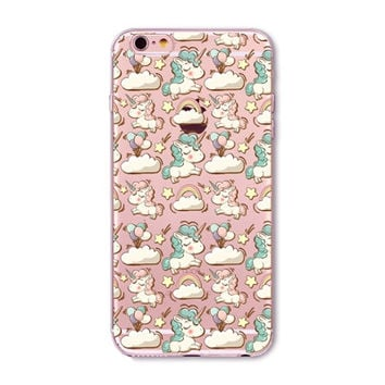 KAWAII Unicorn Birthday Case for iPhone