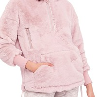 Free People FP Movement Off the Record Soft Fleece Hoodie | Nordstrom