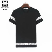 Givenchy 2018SS Spring and Summer Classic advanced printing pattern men's short sleeve T-shirt ღ 025
