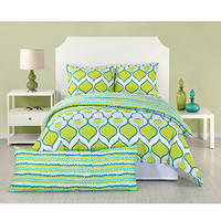 CLOSEOUT! Trina Turk Bedding, Geo Drop Comforter Sets