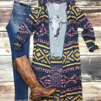 Into The Sunset Cardigan