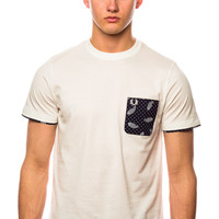 Fred Perry Drake's Handkerchief Pocket T-Shirt