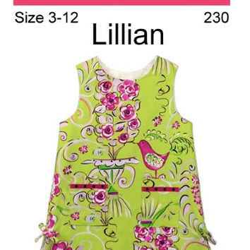 Little Girl Sleeveless Dress Pattern