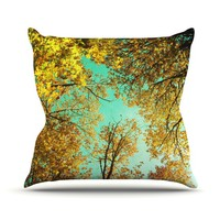 Sky-Watching Throw Pillow