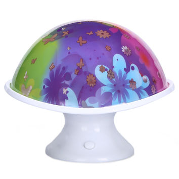 Indoor Lamp Home Night Light Mushroom Moonlight Light