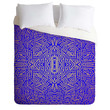 Jacqueline Maldonado Radiate Gold Royal Duvet Cover
