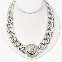 Simba Necklace - Silver