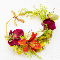 Kimchi Blue Rainforest Queen Flower Crown - Urban Outfitters