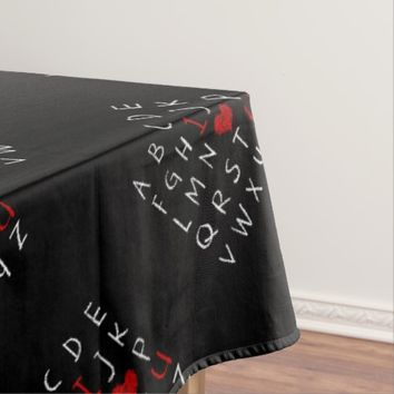 Love Alphabet Tablecloth