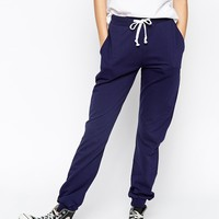 ASOS Lightweight Joggers with Contrast Tie