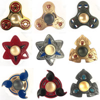 LCODCDML 2017 New Tri-Spinner Fidget Toy EDC Hand Spinner Anti Stress Reliever And ADAD Fidget Spinner Toy Focus Autism Stress