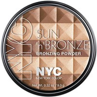 NYC New York Color Sun 'n' Bronze Bronzing Powder, Fire Island Tan - Walmart.com