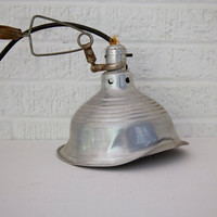 Vintage Industrial Shop Light by designhousevintage on Etsy