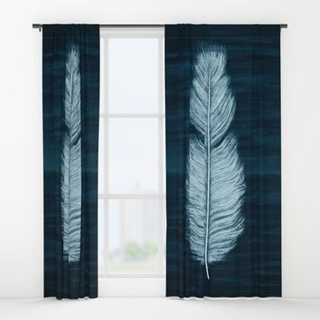 Sea & Sky Window Curtains by MidnightCoffee
