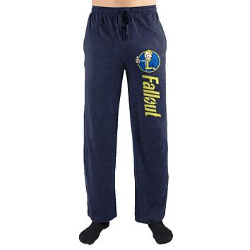 MPLP Fallout Thumbs Up Logo Print Mens Loungewear Lounge Pants