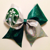 Starbucks Cheer Bow