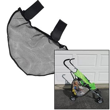 Evelots  Stroller Net-Bag-Side Sling-Attachable-Storage-Organizer-Baby Travel