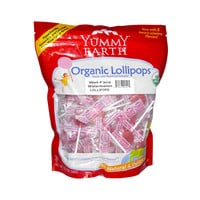 Yummy Earth Organic Lollipops Wet-Face Watermelon - 12.3 oz