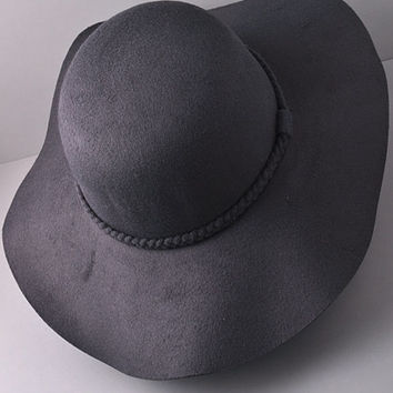 Well Traveled Gray Floppy Hat
