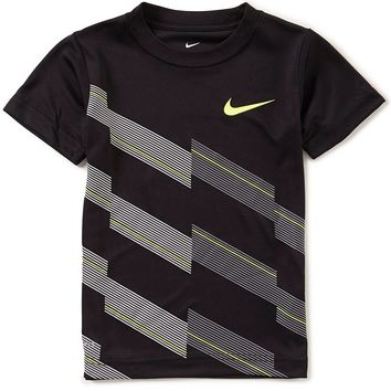 Nike Little Boys 2T-7 Diagonal Line Dri-FIT Tee | Dillards