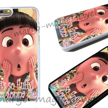 Agnes, it's so fluffy! minions Phone Case, cover case fits iPhone models, unique mobile accessories,