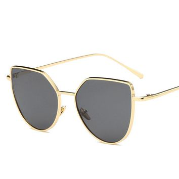 pilot sunglasses 2018 new women men driver glasses brand designer 2018 uv400 high quality steampunk sunglasses mirrored glasses