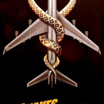 Snakes on A Plane Movie Poster 24x36