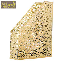Gold Swirl Metal Magazine Holder | Hobby Lobby | 1191006
