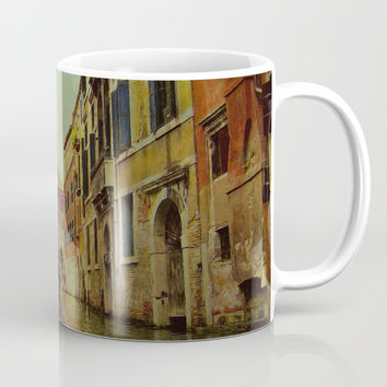 Venice, Italy Canal Gondola View Mug by Theresa Campbell D'August Art