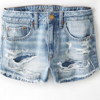 AEO Women's Hi-rise Festival Shortie (Authentic Light)