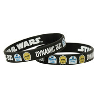 Star Wars Dynamic Duo Rubber Bracelet 2 Pack