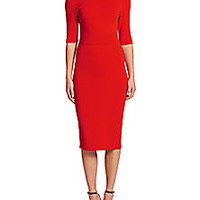 A.L.C. - Scoppa Cutout-Back Dress - Saks Fifth Avenue Mobile