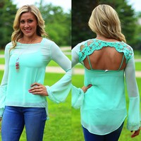 Got Your Back Top in Mint
