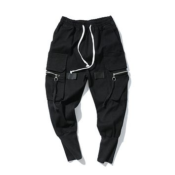 Sports Zippers Pants [411395850269]