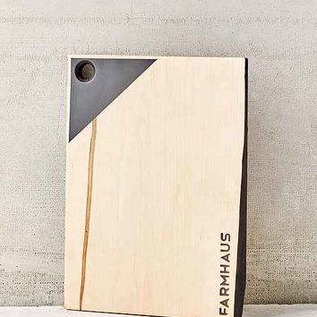 Farmhaus Reclaimed Maple Pennant Serving Board- Assorted One