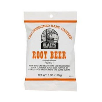 Claeys Root Beer Hard Candy