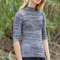 Say What Mock Neck Pullover Sweater at PacSun.com