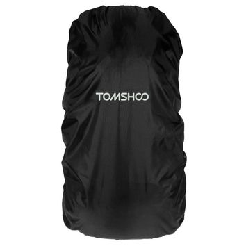 TOMSHOO 40L-55L Waterproof Raincover for  Shoulder Bags Useful for Campers, Hikers, Travelers