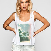 Billabong Aloha Yoyo Womens Tank White  In Sizes