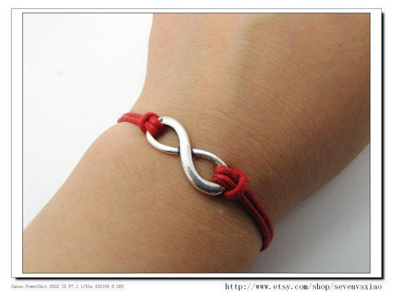 10OFF Discount Red Ropes Steampunk Bracelet antique by sevenvsxiao