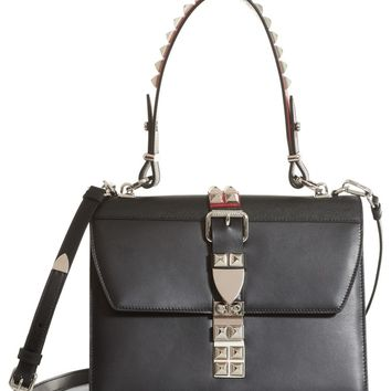 Prada Elektra Studded Calfskin Leather Satchel | Nordstrom