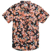 Reef Floral Magic Woven Shirt - Mens Shirt - Black -