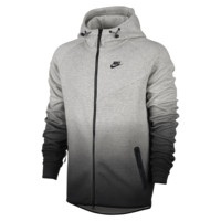 Nike Tech Fleece Fade Windrunner Men's Hoodie Size 2XL (Grey)