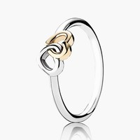 Women's PANDORA 'Heart to Heart' Ring