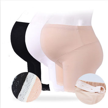 ZeeChi  Maternity Underwear Maternity Panties abdominal security trousers cotton support  Pregnancy high waist  Underpant lace