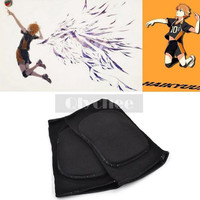 Anime Haikyuu Karasuno High School Volleyball Jersey Knee Pad Kneecap Protector COSPLAY