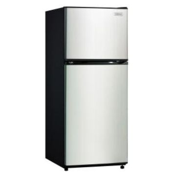 Vissani, 24 in. W 10 cu. ft. Top Freezer Refrigerator in White, HMDR1030WE at The Home Depot - Mobile